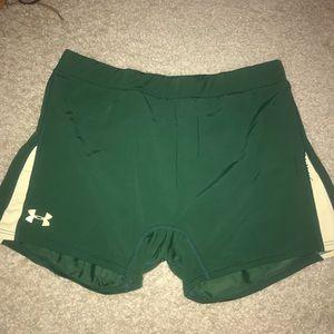 under armour spandex shorts